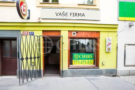 Pronájem prodejny nebo rychlého občerstvení, 60 m2, ul. Bělohorská 83, Praha 6 Břevnov