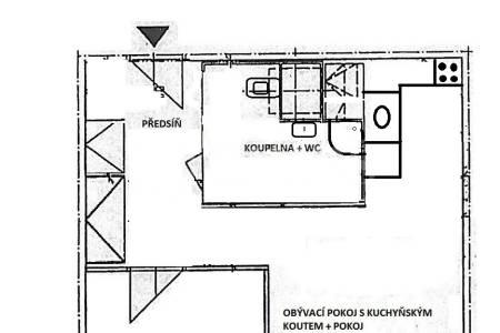 Prodej bytu 2+kk, OV, 43m2, ul.  Kettnerova 2061/2, Praha 13 - Stodůlky