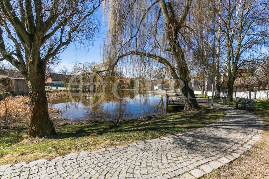 Prodej stavebního pozemku, OV, 1307 m2,  K Břežanům 5, Lhota u Dolních Břežan