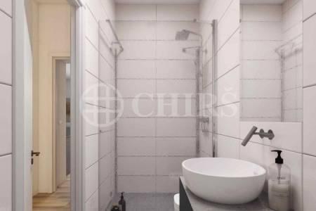 Prodej rozestavěné bytové jednotky Konšelská 1403/2, Praha 8