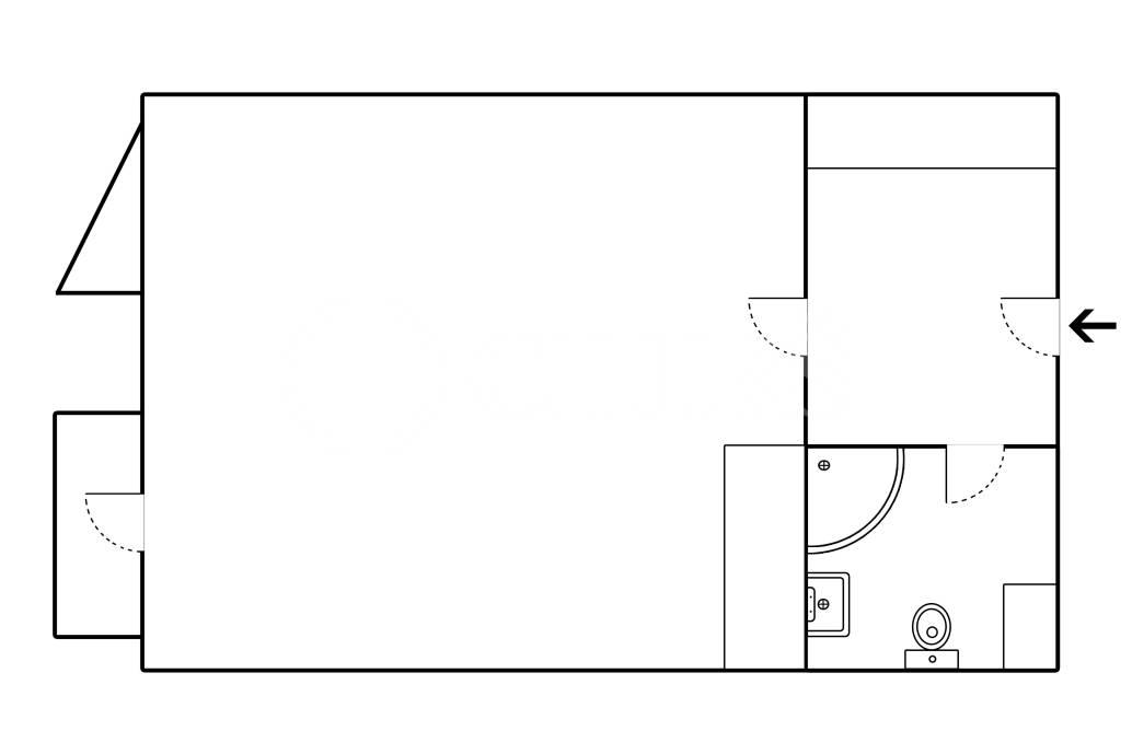 Prodej bytu 1+kk/B, OV, 46m2, ul. Högerova 1098/15, Praha 5 – Barrandov
