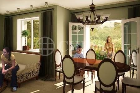 Prodej nového bytu 3+kk/předzahrádka, OV, 75 m2, Králův Dvůr - Levín, č.4-102