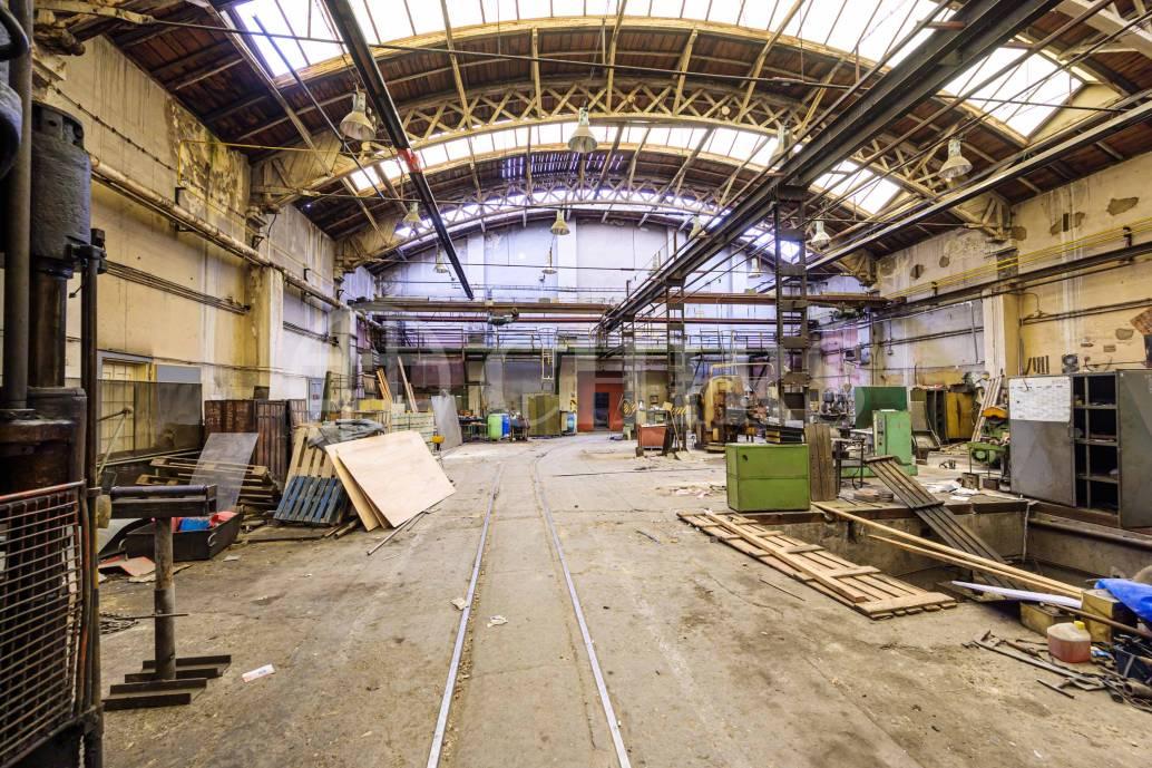 Prodej výrobní haly, OV,  3491m2, ul. Dubská,