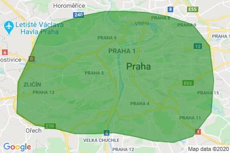 Pronajmu si byt 2kk-3+1, novo, celá Praha