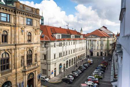 Pronájem bytu 2+1, OV, 71m2, ul. Na Můstku 383/1, Praha 1 - Staré Město
