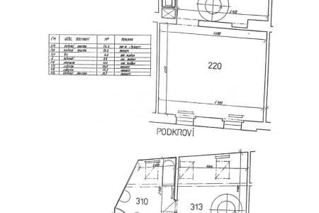 Pronájem komerčního objektu 5+kk, OV, 136m2, ul. Petrská 1136/12, Praha 1 - Nové Město