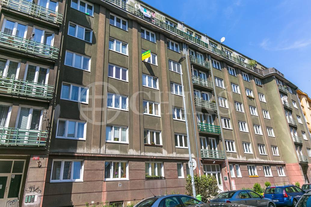 Prodej bytu 2+1, OV, 53m2, ul. Na Louži 1308/23, Praha 10 - Vršovice