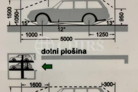Prodej garážového stání, OV, 15m2, ul. Nová kolonie 1449/4, Praha 5 - Stodůlky