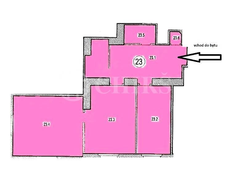 Prodej bytu 3+kk, OV, 98m2, ul. Wuchterlova 1607/12, Praha 6 - Dejvice