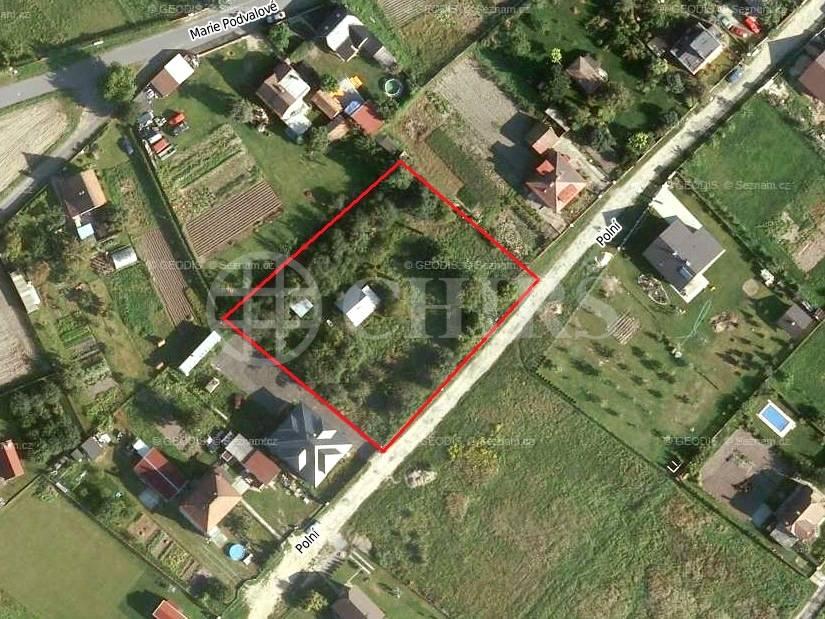 Prodej pozemku, OV, 3199m2, ul. Polní 230, Tišice