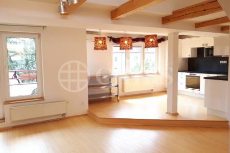 Pronájem bytu 3+kk s lodžií, OV, 108m2, ul. Čínská 765/3, Praha 6 - Bubeneč