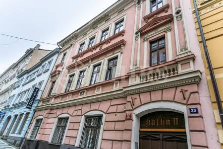 Prodej komerčního objektu, OV, 36m2, ul. Cimburkova, Praha 3 - Žižkov