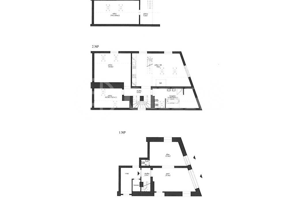 Prodej bytu 4+kk, OV, 166m2, ul. Hlubočepská 28/48, Praha 5 - Hlubočepy