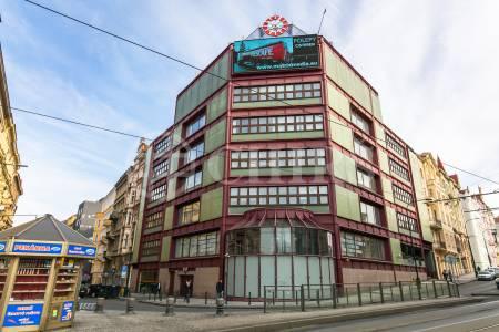 Pronájem komerčního objektu, OV, 353m2, ul. Na Moráni 3/360, Praha 2 - Nové Město