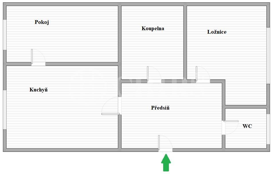 Prodej bytu 3+kk, OV, 62m2, ul. Petrohradská 810/17, Praha 10 - Vršovice