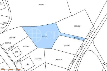 Prodej stavebního pozemku 1181 m2, Bubovice, okr.Beroun
