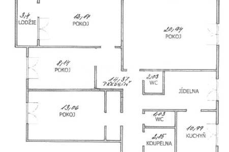 Prodej bytu 4+1/L, OV, 93m2, ul. Dreyerova 628/7, Praha 5 – Barrandov