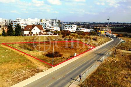 Prodej pozemku 750m2, ul. Karla Kryla 1, Praha 5 Stodůlky