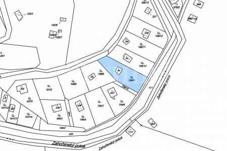 Prodej chaty 1+1, OV, 28m2, Oleško č. 1069, Březová - Oleško, okr. Praha-západ