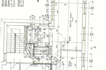 Pronájem bytu 2+1 v RD, 2+1, 58m2 , ul. Na Záhonech 838/22, P-4  Michle