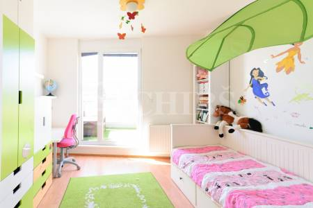 Prodej bytu 3+kk, 2x terasa, 2x GS, OV, 89m2, ul. Raichlova 2618/6, P-5, Stodůlky