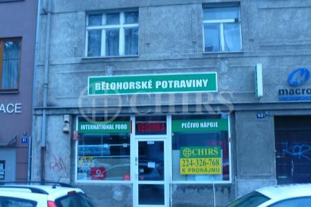 Pronájem komerčního prostoru, OV, 100m2, ul. Bělohorská 258/43, Praha 6 - Břevnov
