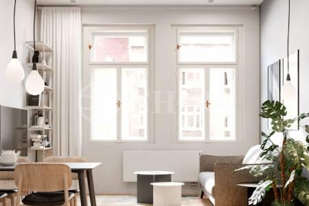 Prodej bytu 3+kk o velikosti 86,7 m2,Bořivojova 1049/57, Praha 3 - Žižkov