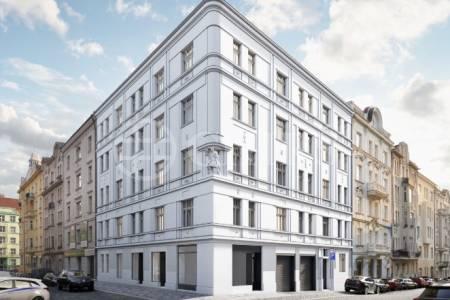 Prodej obchodní jednotky, 90,9 m2, ul. Na Spojce, Praha 10 - Vršovice