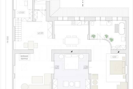 Prodej exkluzivního loftového bytu 150 m2, v historickém jádru Prahy