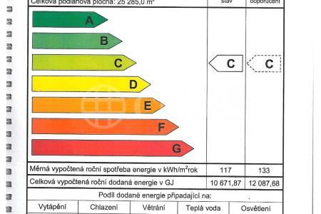 Pronájem komerčního objektu 1+kk, OV, 27m2, ul. Petržílkova 2583/13, Praha 5 - Stodůlky