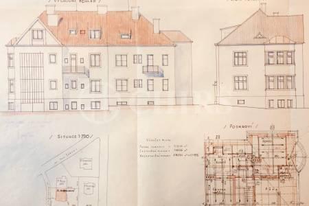 Prodej vilového domu se zahradou, Hanspaulka - Sojkovská ul., Praha 6 - Dejvice