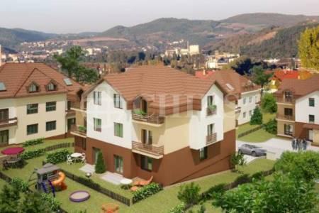 Prodej bytu 3+kk/B, OV, 60 m2, Králův Dvůr - Levín