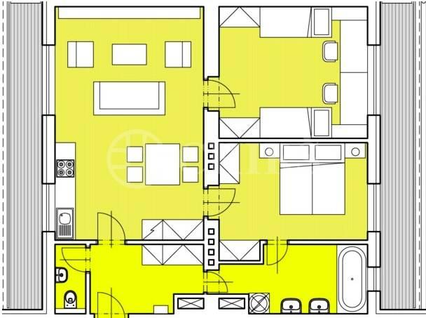 Prodej bytu 3+kk/2xT, OV, 75m2, ul. Za Vokovickou vozovnou 257/4, Praha 6 - Veleslavín