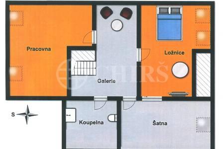 Prodej bytu 5+1 s balkonem, OV, 144m2, ul. U Stírky 2034/4, Praha 8 - Libeň