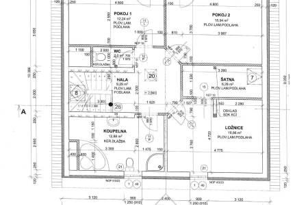 Prodej rodinného domu 4+1 s balkonem a terasou, OV, 153m2, Na Vrbici 595, Jesenice - Osnice