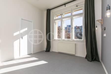 Pronájem bytu 2+kk s balkonem, OV, 57 m2, ul. Jugoslávských partyzánů 938/4, Praha 6 – Dejvice