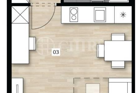 Prodej bytu 1+kk, 26 m2,ul. Perucká 2482/7, P2 Vinohrady