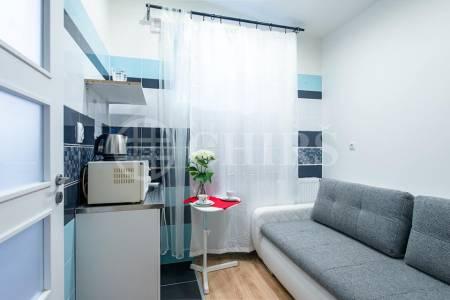 Prodej apart hotelu 5 apartmanů, 96 m2, ul. Na Bělidle 293/32, Praha 5 - Smíchov