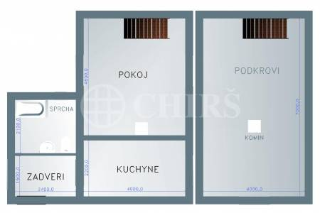 Prodej RD 2+1, 65 m2 se zahradou 677 m2, K cihelně 75, Statenice - Černý vůl