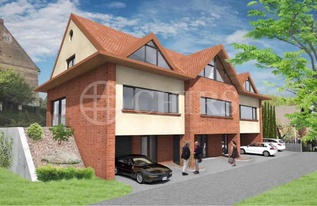 Prodej stavebního pozemku se studií pro výstavbu 3