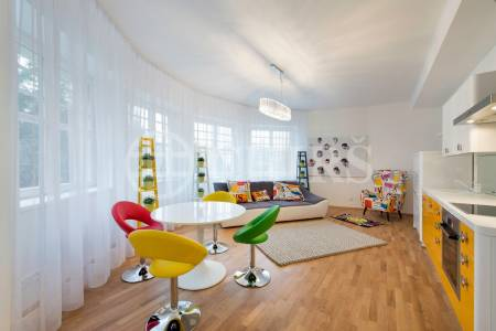 Pronájem bytu 3+kk, OV, 100 m2, Branická 479/21, P-4 Braník.