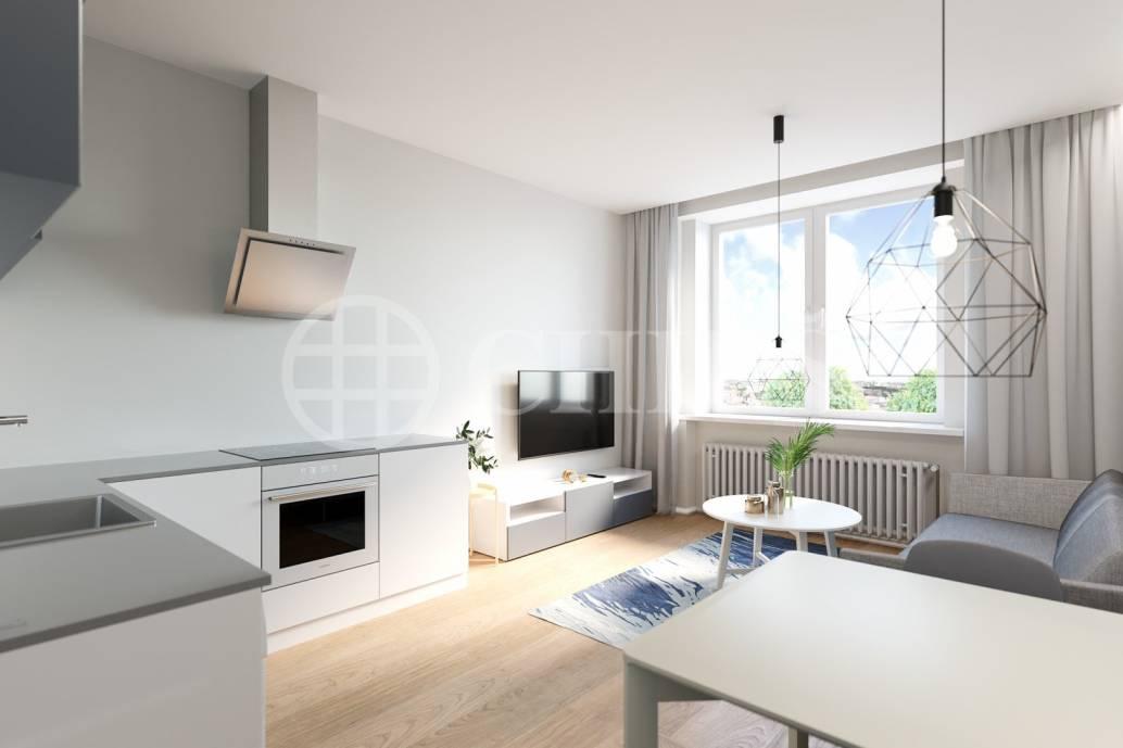Prodej bytu 2+kk, 46 m2,ul. nam. Dr. Václava