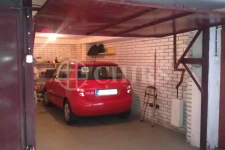 Prodej garáže, OV, 19m2, ul. Běhounkova 2548/4, Praha 13 - Nové Butovice