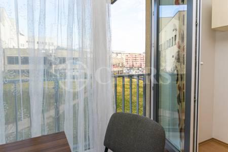 Prodej bytu 1+kk s garážovým stáním, OV, 36m2, ul. Nárožní 2787/7a, Praha 5 - Stodůlky