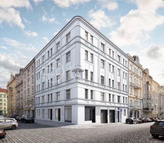 Prodej obchodní jednotky, 40,2 m2, ul. Na Spojce, Praha 10 - Vršovice