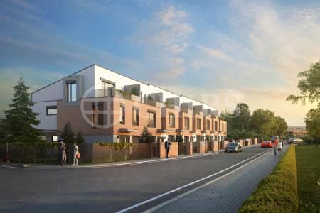 Nabízíme na prodej exkluzivní projekt 8 řadových nízkoenergetických domů
