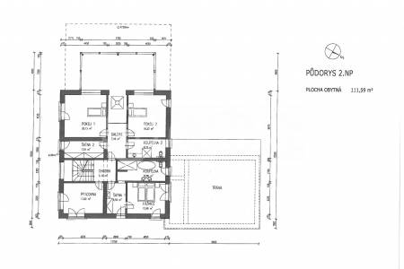 Prodej vily 6+kk, OV, 264m2, ul. Na Golfu 953, Beroun - Závodí