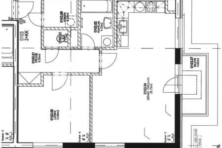 Prodej bytu 2+kk s balkonem, OV, 59m2, ul. Smetáčkova 1485/4, Praha 5 - Stodůlky