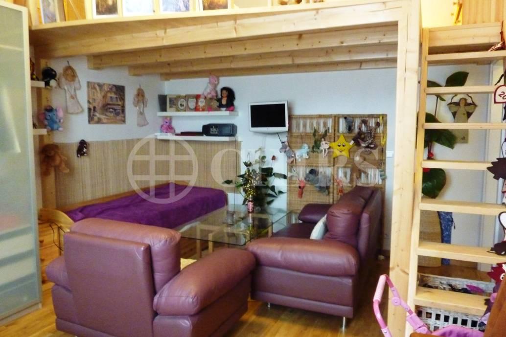 Pronájem bytu 2+kk/zahrada/garážové stání/sklep/nebytový prostor, OV, 265m2, ul. U Náměstí 713/11, Dolní Břežany