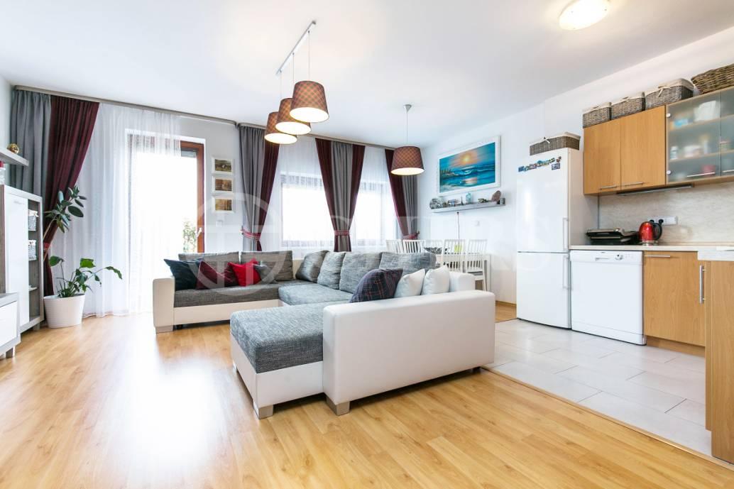 Prodej bytu 3+kk s předzahrádkou, OV, 90,3m2, ul. Přeučilova 2696/7, Praha 5 - Stodůlky